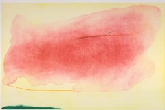 Helen Frankenthaler 'Nepenthe' Etching and Aquatint in Colors, 1972