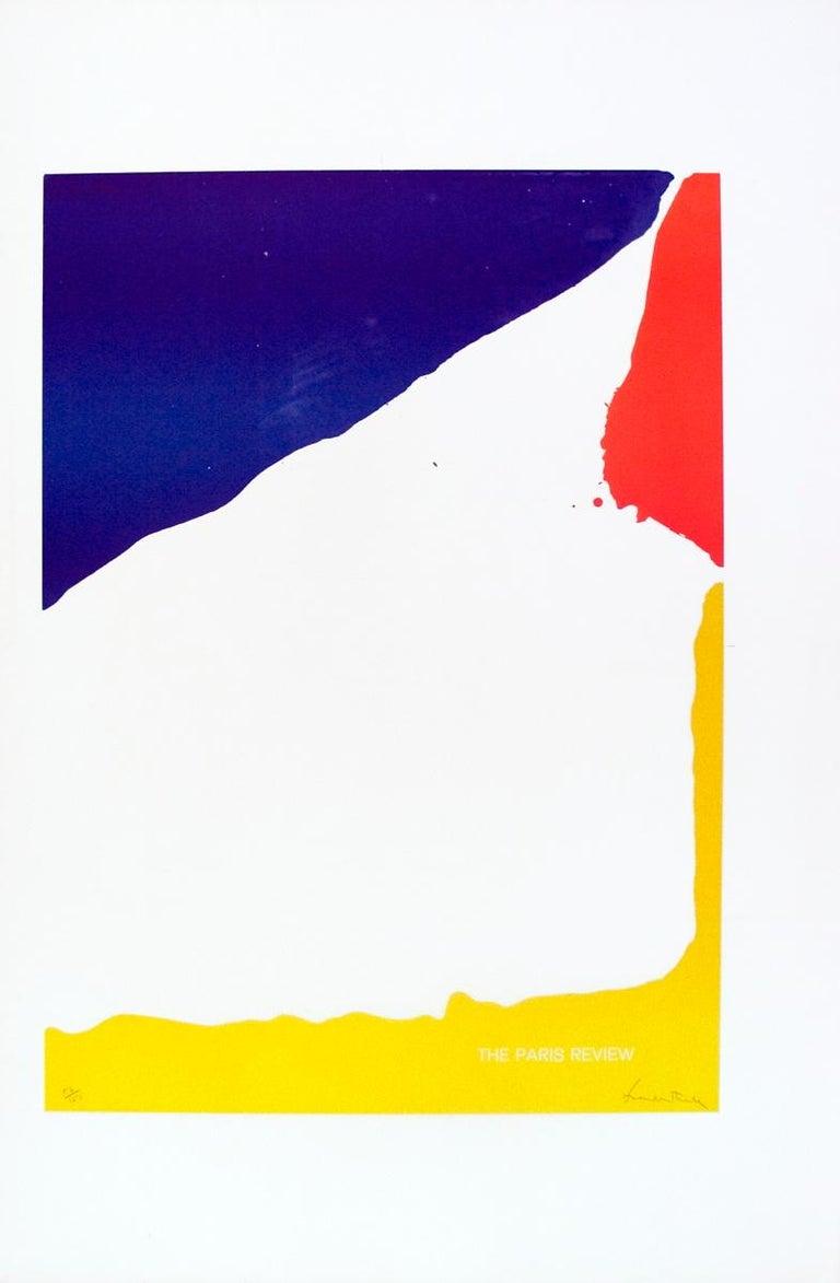 Helen Frankenthaler - Paris Review - Color Lithograph 1965 - Print by Helen Frankenthaler