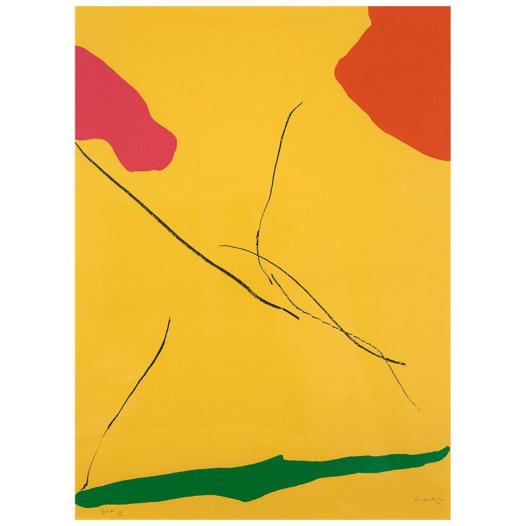 "Helen Frankenthaler ""Spoleto"" - Print by Helen Frankenthaler"