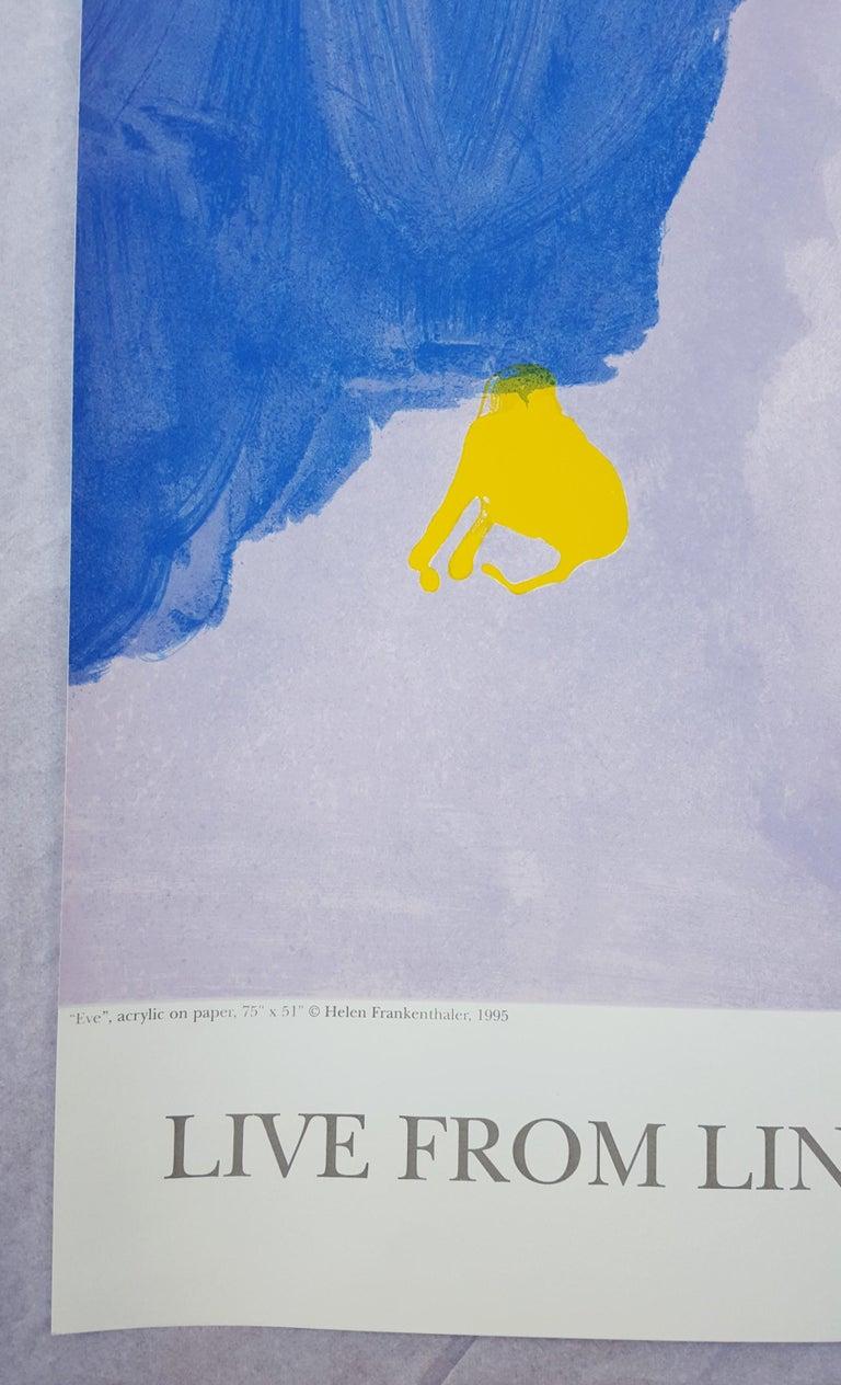 Live from Lincoln Center (Eve) - Print by Helen Frankenthaler