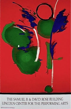 Mary, Mary, Limited Edition Lithograph, After Helen Frankenthaler - LARGE