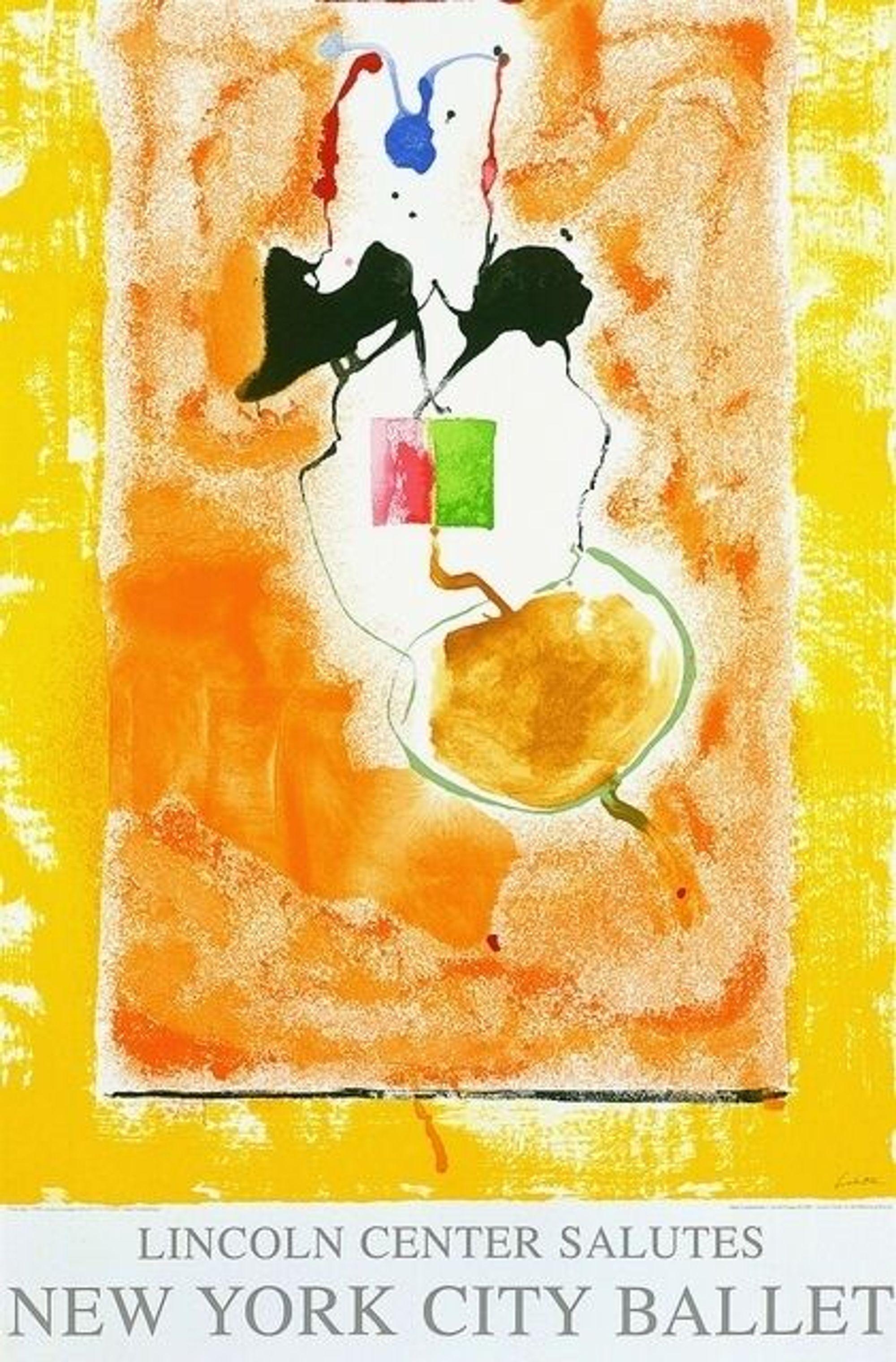 Solar Imp 2001, Lincoln Center New York City Ballet Honorary Silkscreen