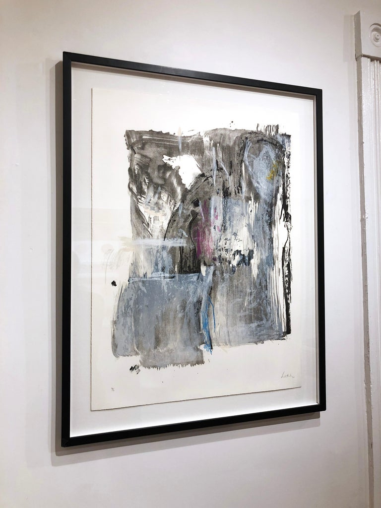 Sudden Snow - Abstract Print by Helen Frankenthaler