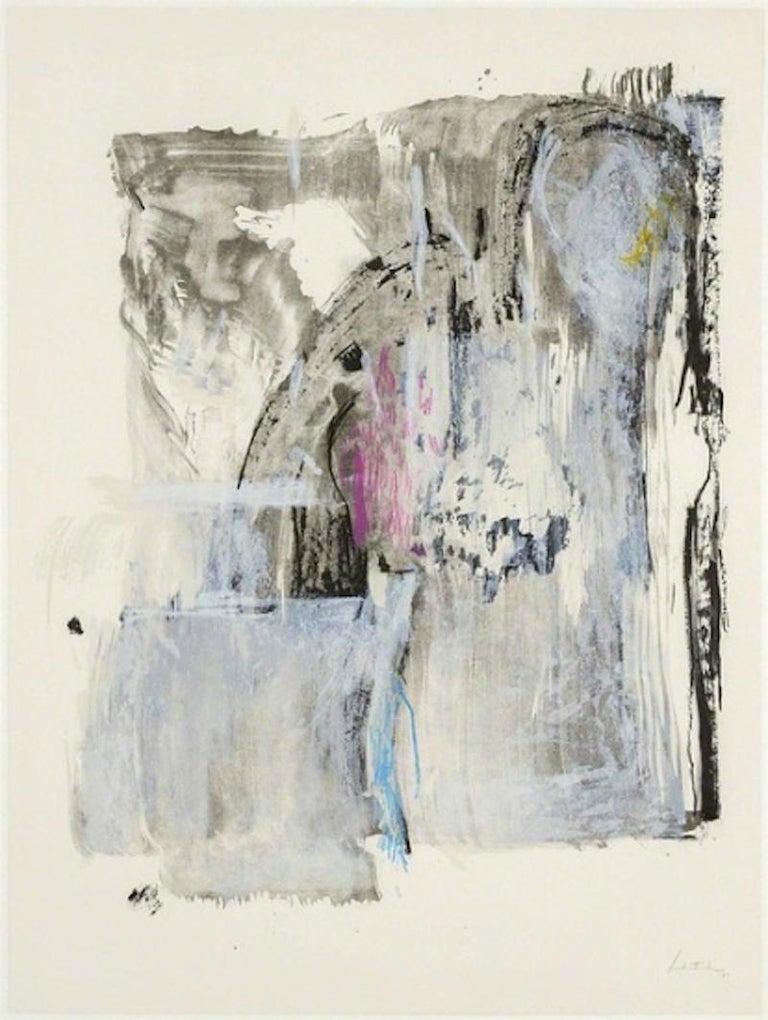 Helen Frankenthaler Abstract Print - Sudden Snow