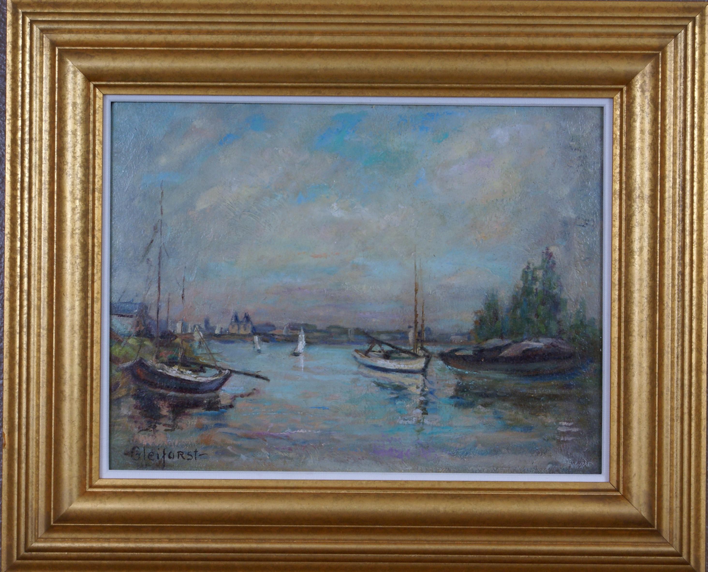 Scene of Harbor