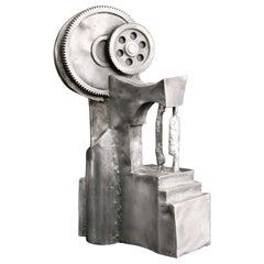 Helen Hosking 1980 Aluminium Machine Age Sculpture