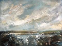 Helen Howells, Seaboard, Original Seascape Painting, Contemporary Art