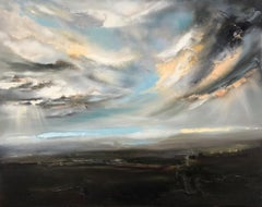 Helen Howells, The Light Within, Contemporary Art, Original Landscape Painting