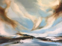 Helen Langfield, Winters Breath, Affordable Art, Original Landscape Painting