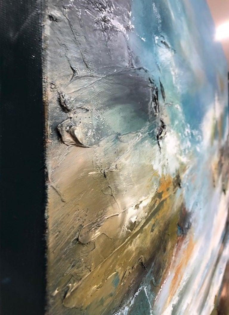 Island Whisperings, Helen Langfield, Helen Howells, Seascape Painting For Sale 1