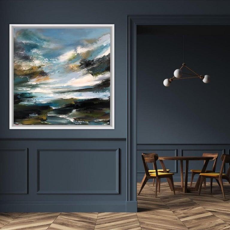 Island Whisperings, Helen Langfield, Helen Howells, Seascape Painting For Sale 2