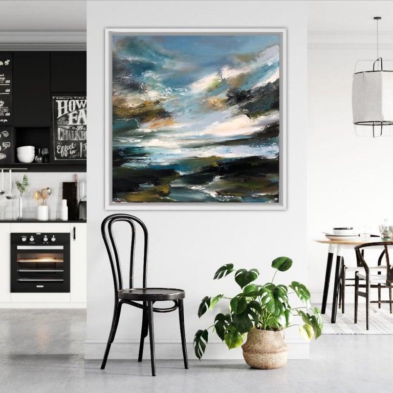 Island Whisperings, Helen Langfield, Helen Howells, Seascape Painting For Sale 3
