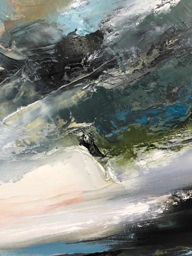 Island Whisperings, Helen Langfield, Helen Howells, Seascape Painting For Sale 5