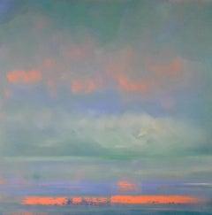 Helen Robinson, Reflections, Original seascape painting
