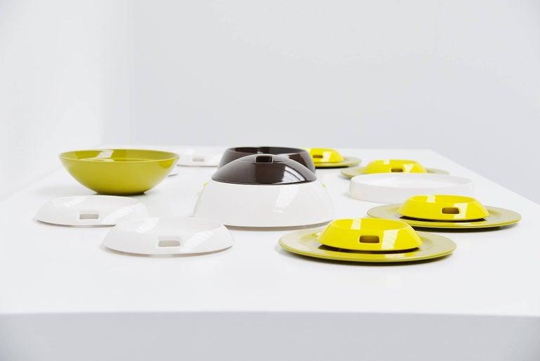 Helen Von Boch Avant Garde Table Ware, 1971 In Excellent Condition For Sale In Roosendaal, Noord Brabant