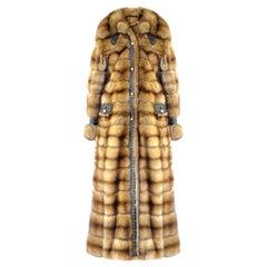 Helen Yarmak Barguzin Sable Coat