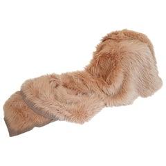 Helen Yarmak Knitted Fox Blanket