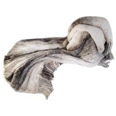 Helen Yarmak Knitted Mink Blanket