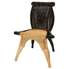 Helena Borek Sipek Rattan Chair for Scarabas