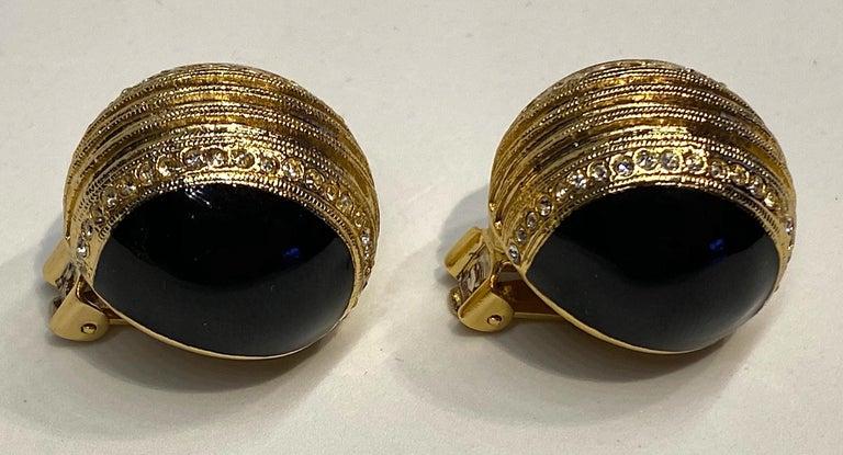 Helena Rubinstein Earring and Brooch Set For Sale 1