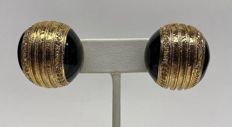 Helena Rubinstein Earring and Brooch Set For Sale 3