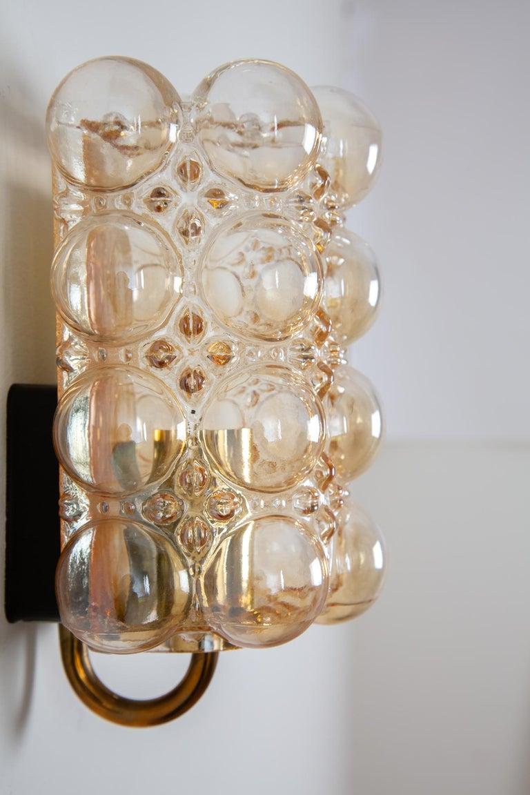 Mid-Century Modern Helena Tynell Bubble Wall Lamp for Glashütte Limburg For Sale