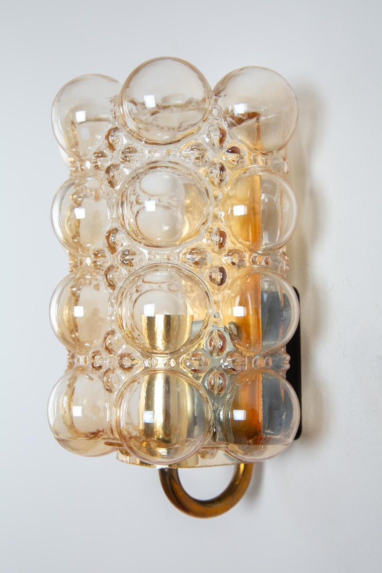 German Helena Tynell Bubble Wall Lamp for Glashütte Limburg For Sale