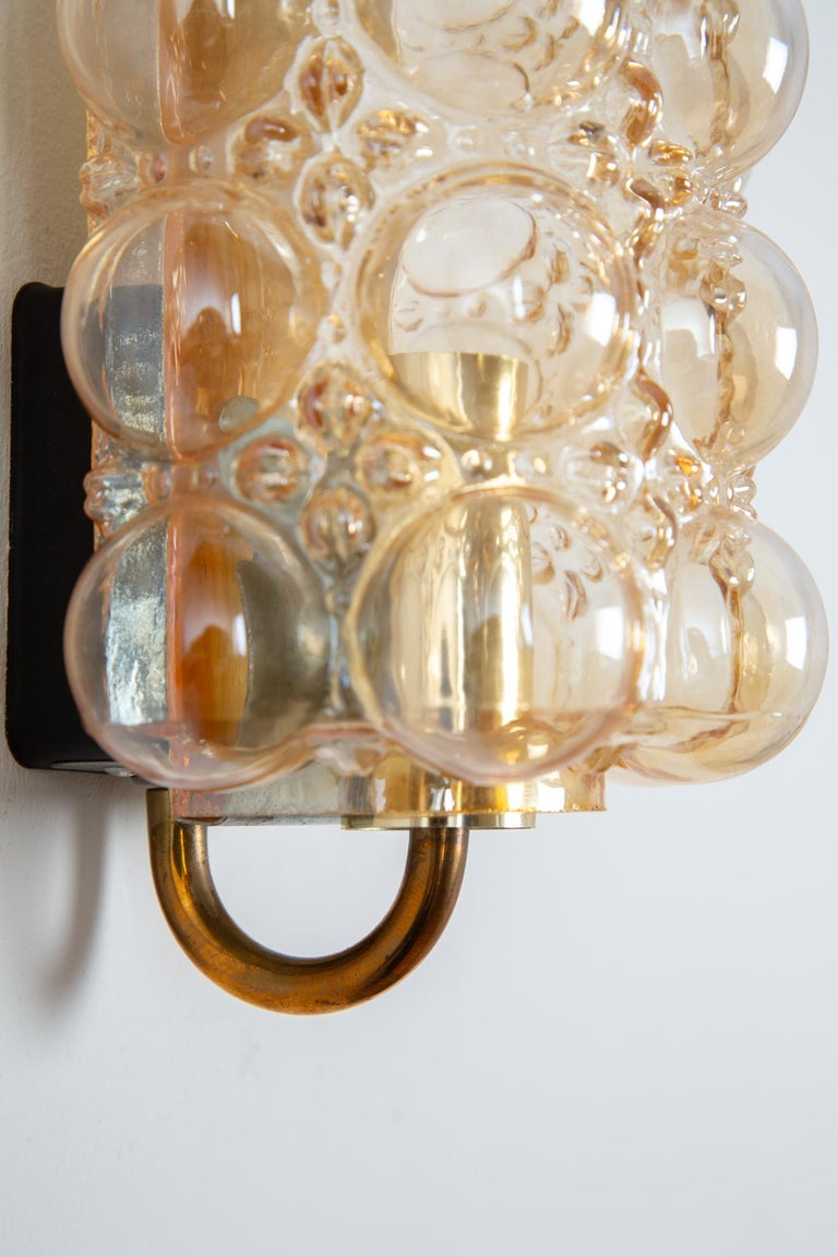 Mid-20th Century Helena Tynell Bubble Wall Lamp for Glashütte Limburg For Sale