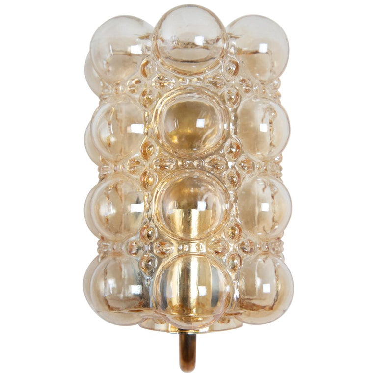 Helena Tynell Bubble Wall Lamp for Glashütte Limburg For Sale