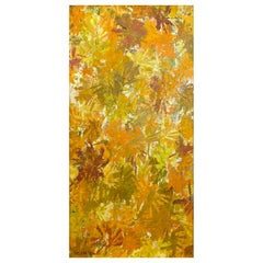 "Helena Willi ""Autumn"", Expressionist Flora Oil Painting, c. 1960"
