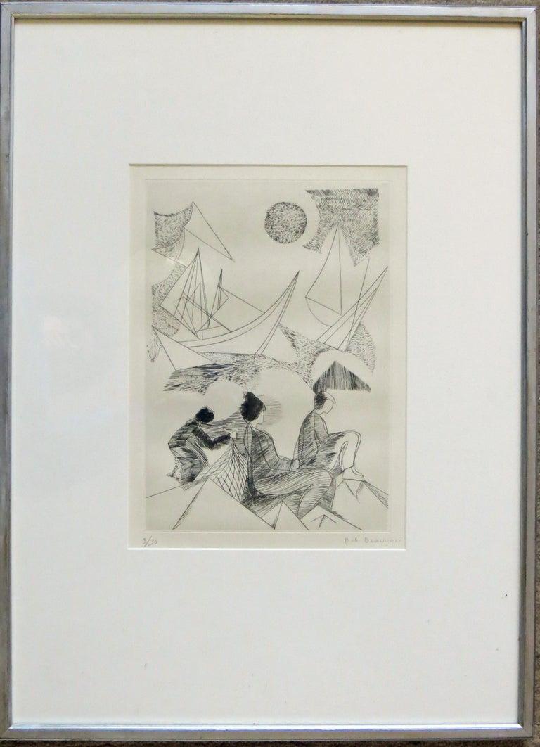 Unknown - Print by Helene de Beauvoir