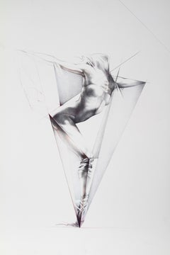 Move IX, Dance Lithograph by Helene Guetary