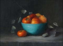 Turquoise, Style of Realism, Oil ,Texas Artist, Women in the Arts