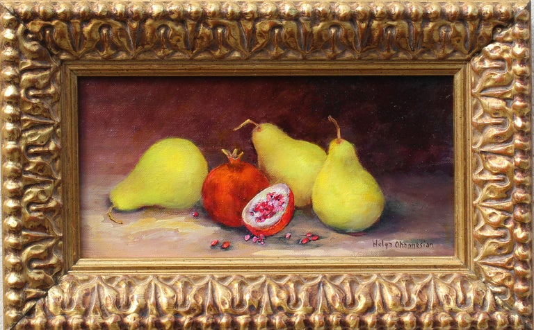 Organic - Painting by Helga Ohannesian