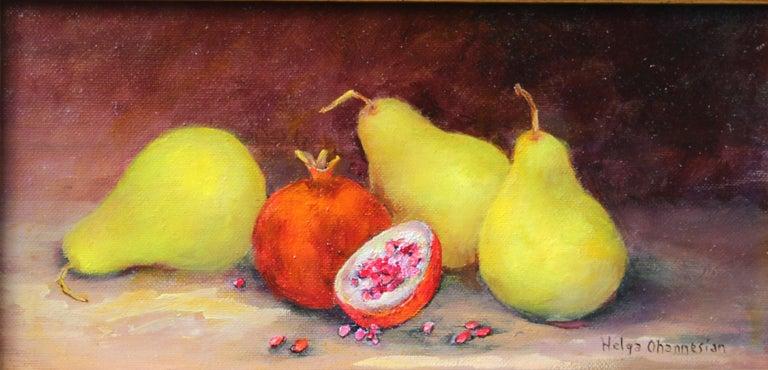 Helga Ohannesian Still-Life Painting - Organic