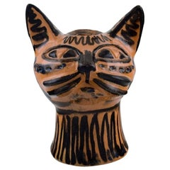 Helge Christoffersen, Denmark, Unique Figure of Cat Head