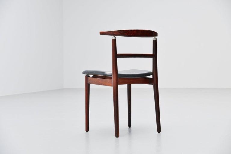 Scandinavian Modern Helge Sibast Borge Rammeskov Chair Sibast Mobler, Denmark, 1962 For Sale