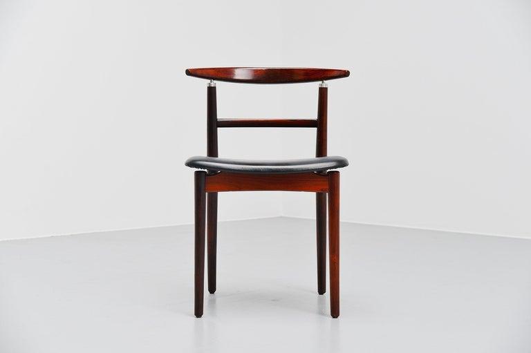 Helge Sibast Borge Rammeskov Chair Sibast Mobler, Denmark, 1962 In Good Condition For Sale In Roosendaal, Noord Brabant