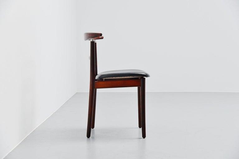 Mid-20th Century Helge Sibast Borge Rammeskov Chair Sibast Mobler, Denmark, 1962 For Sale