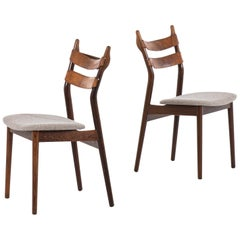 Helge Sibast Dining Chairs Model 59 by Sibast Møbelfabrik in Denmark