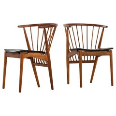Helge Sibast Dining Chairs Model No 6 by Sibast Møbelfabrik in Denmark