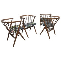 Helge Sibast, Sibast Furniture Set of Four Danish No.8 Teak Cantilever Armchairs