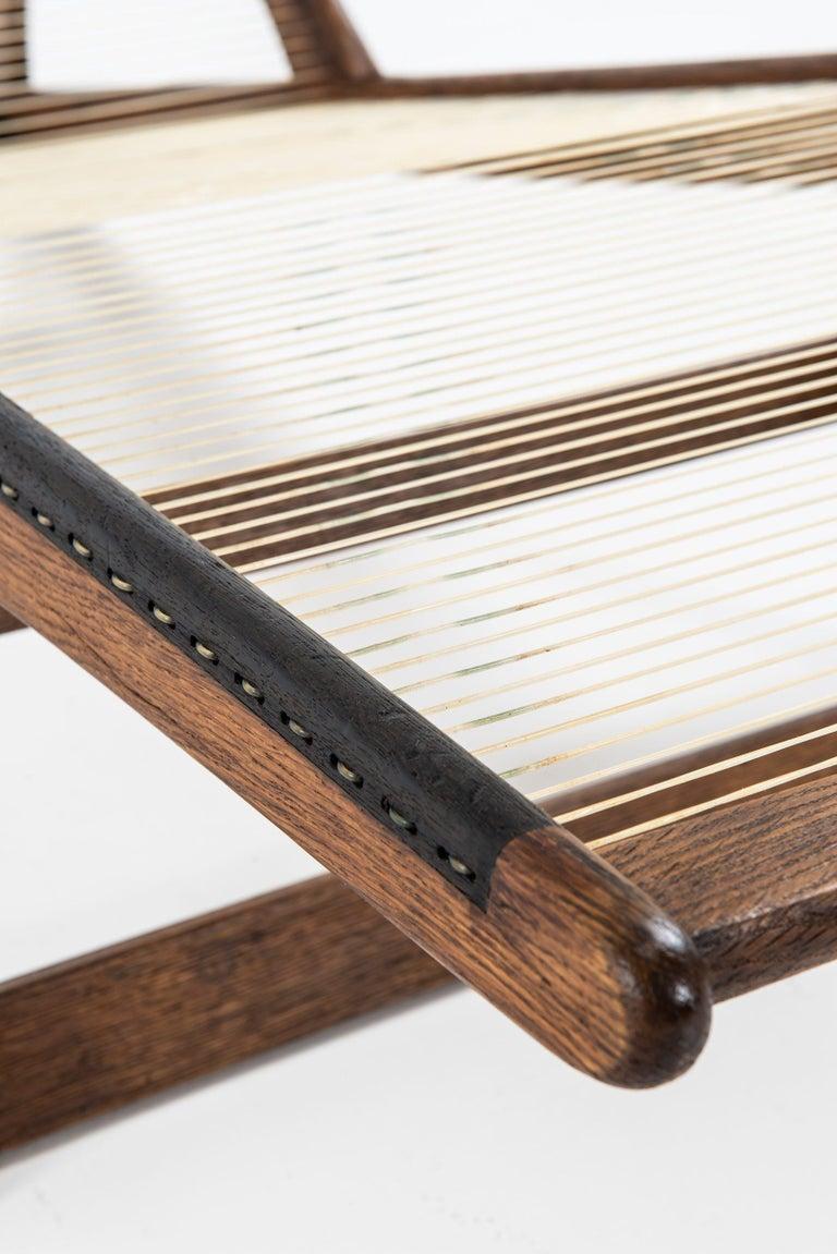 Helge Vestergaard-Jensen Lounge Chair by Cabinetmaker Peder Pedersen in Denmark For Sale 3