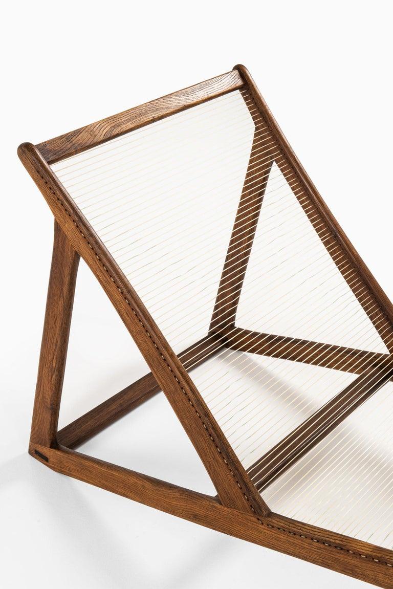 Helge Vestergaard-Jensen Lounge Chair by Cabinetmaker Peder Pedersen in Denmark For Sale 4