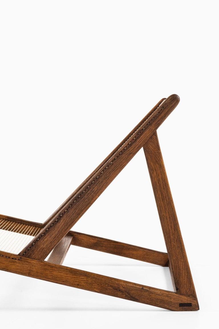 Helge Vestergaard-Jensen Lounge Chair by Cabinetmaker Peder Pedersen in Denmark In Good Condition For Sale In Malmo, SE