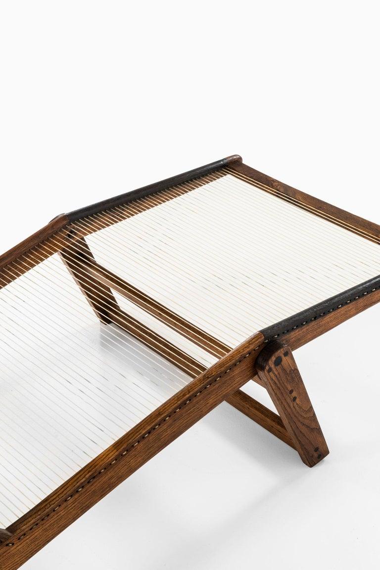 Mid-20th Century Helge Vestergaard-Jensen Lounge Chair by Cabinetmaker Peder Pedersen in Denmark For Sale