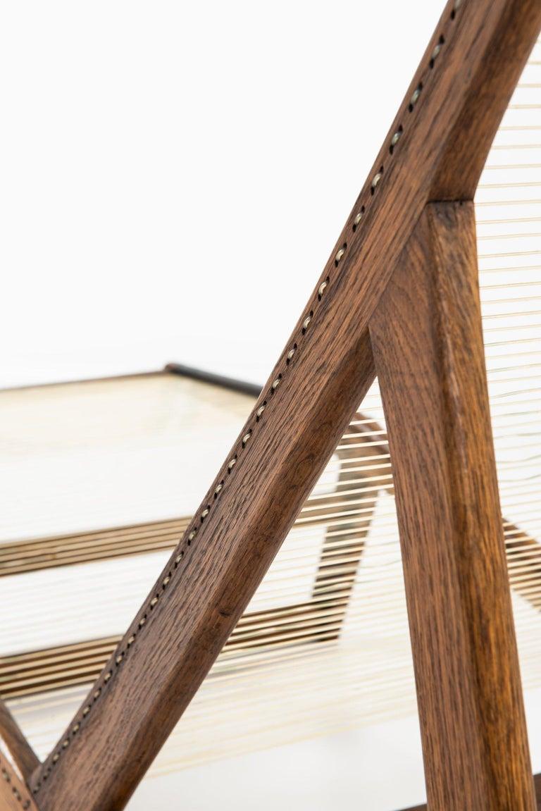 Helge Vestergaard-Jensen Lounge Chair by Cabinetmaker Peder Pedersen in Denmark For Sale 1