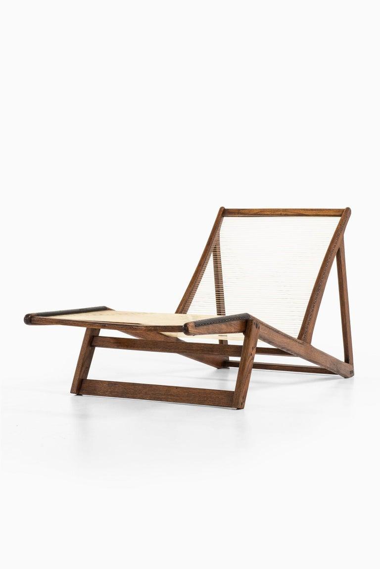 Helge Vestergaard-Jensen Lounge Chair by Cabinetmaker Peder Pedersen in Denmark For Sale 2