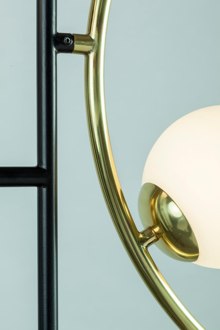 Art Deco Helio I Suspension Lamp For Sale