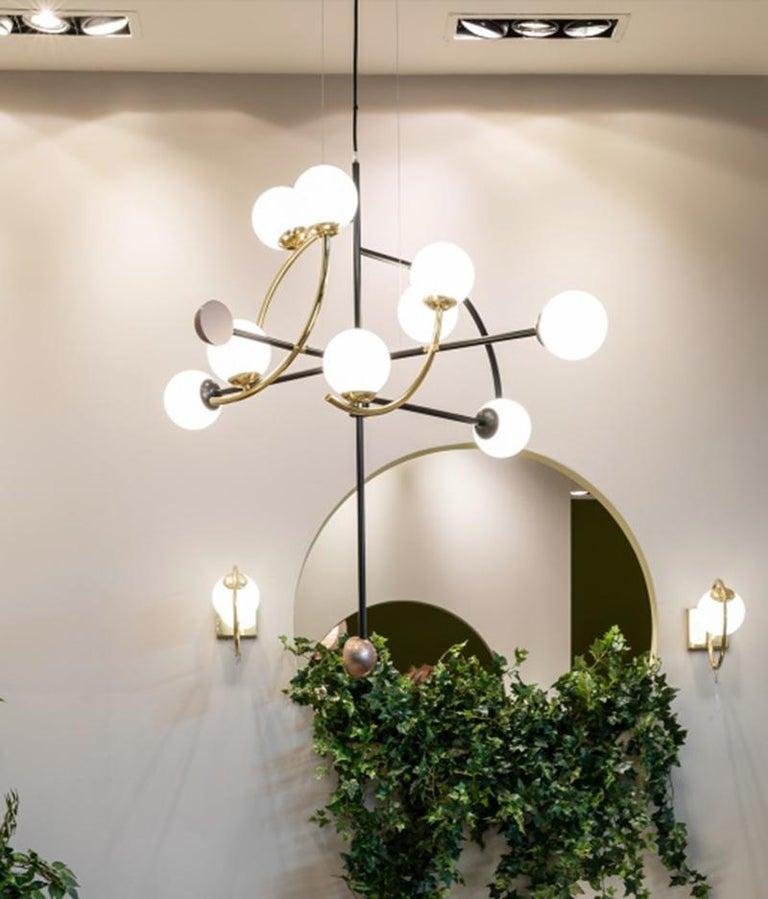 Contemporary Helio I Suspension Lamp For Sale